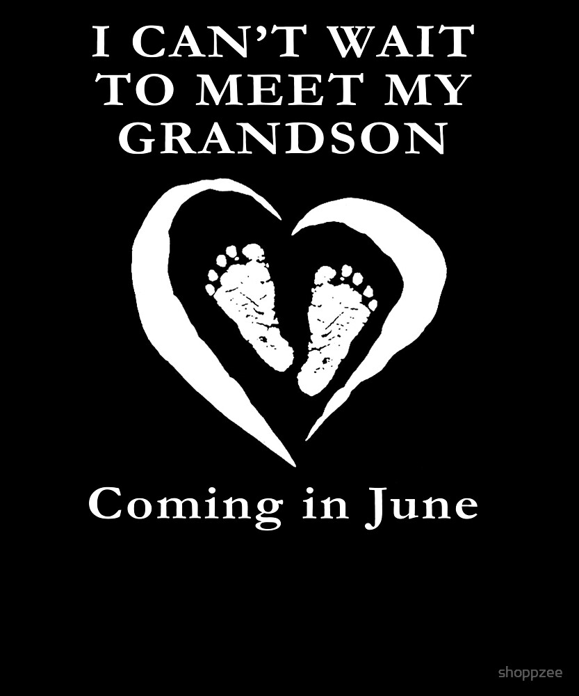 Baby Shower Grandson June Pregnancy by shoppzee