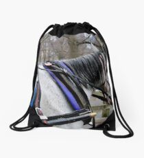 Horse and Carriage Drawstring Bag