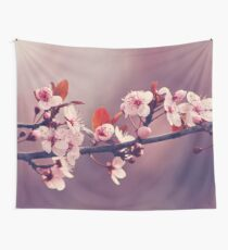 Soft side of Spring III Wall Tapestry