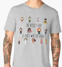 So that's what she became Men's Premium T-Shirt