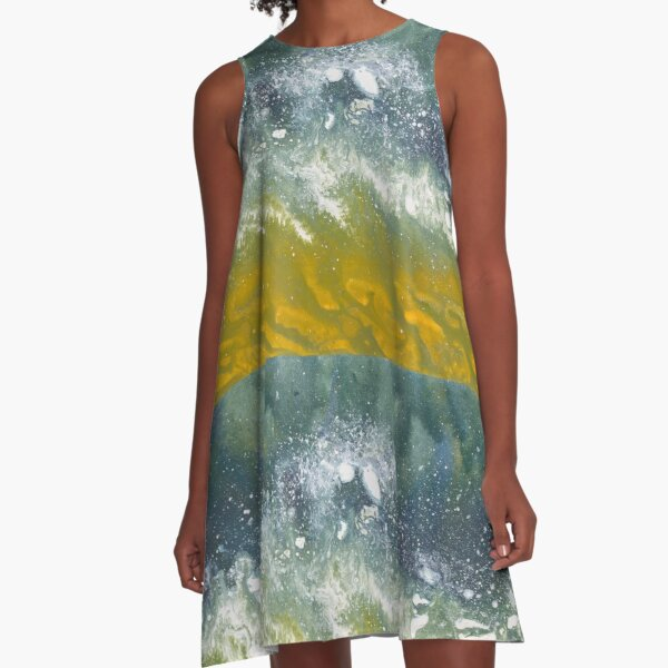 """Energy in Motion""   A-Line Dress"