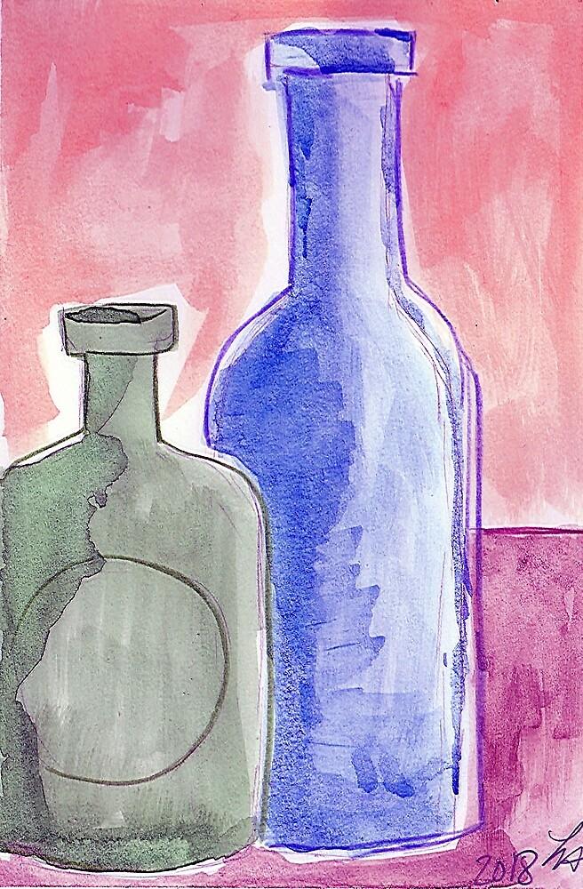 Bottles 90 by Loretta Nash