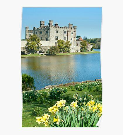 Leeds Castle: Kent UK Poster
