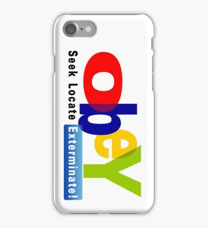 Obay  iPhone Case/Skin