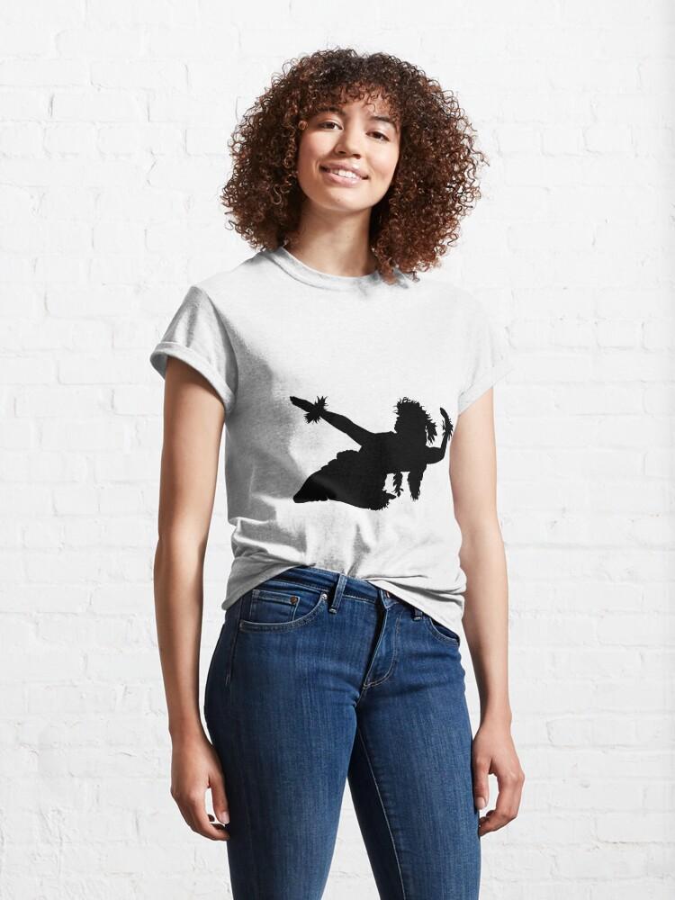 Alternate view of A female Hula dancer  Classic T-Shirt