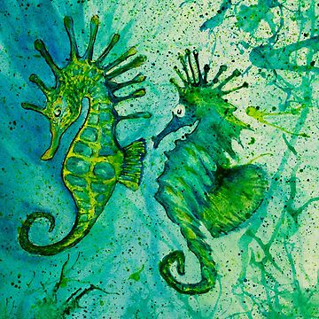 Seahorses by MarkYoung