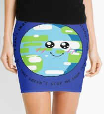 You Mean the World to Me Mini Skirt