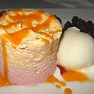 Delicious Dessert - Mango and Raspberry Mousse by Kathryn Jones