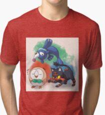 Alolan Starters Tri-blend T-Shirt