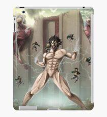 Shingeki No Kyojin Poster iPad Case/Skin