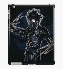 Gas-Mask-Scissors iPad Case/Skin