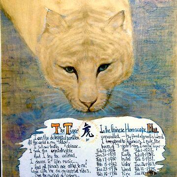 Chinese horoscopes, The Tiger. by MardiGCalero