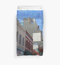 ABQ Buildings Duvet Cover