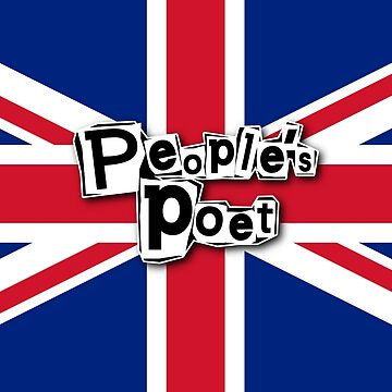People's Poet (red/white/blue) THIS ARTWORK IS ALSO AVAILABLE ON OTHER MERCHANDISE by WonderPuss
