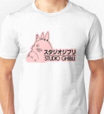 Pink Studio Ghibli Logo Unisex T-Shirt