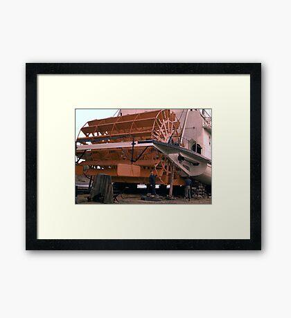 Yukon Paddle-Wheeler Framed Print