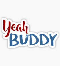 jersey shore - yeah buddy Sticker