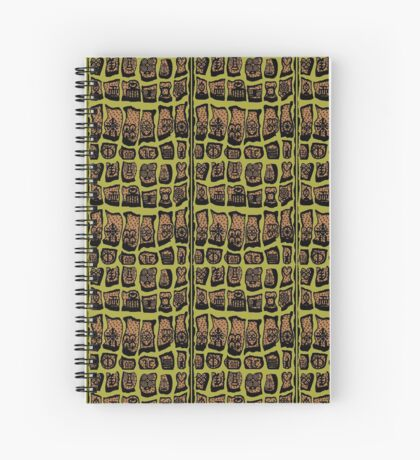 Avocado Spiral Notebook