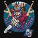Evil Clown T Shirt AK 47 by bear77