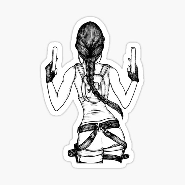 Lara Croft - Tomb Raider Design Sticker