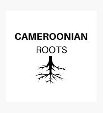 Cameroonian Roots  Photographic Print