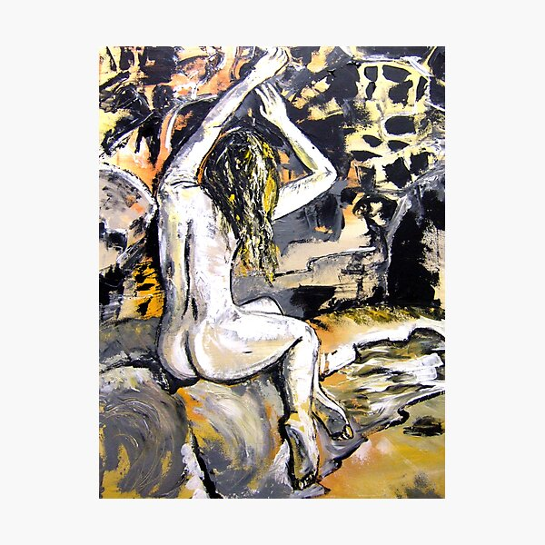 Painted Candance  Photographic Print