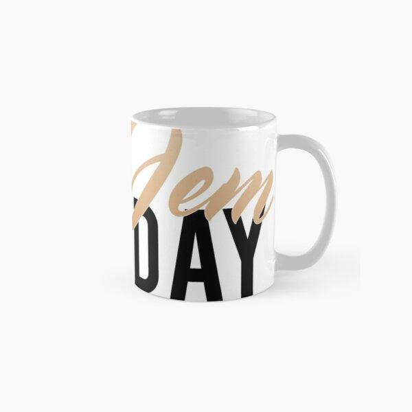 Coco Jem Holiday - Name Design - Gold/Black Classic Mug