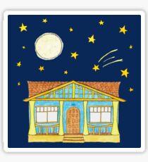 Adah Robinson House by Night Sticker
