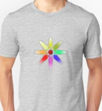 Atomic Flower Unisex T-Shirt
