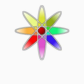 Atomic Flower by eritor