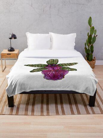 Maias Pinque Throw Blanket