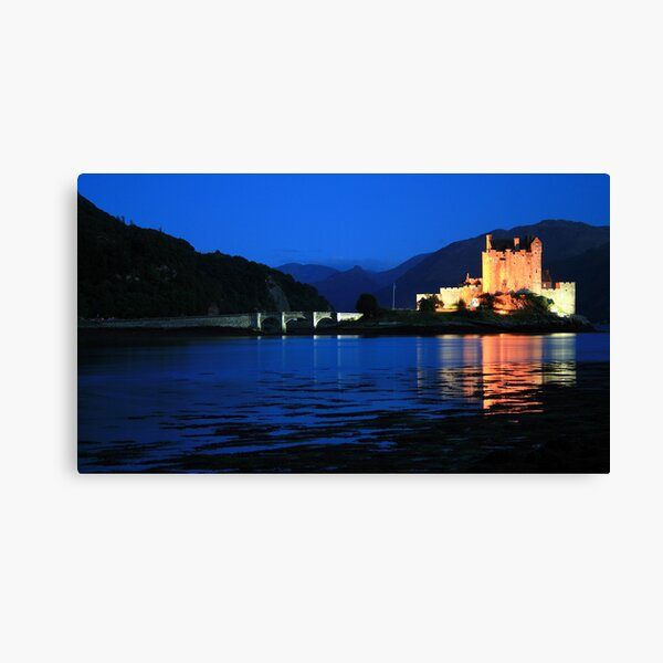 Eilean  Donan Castle  11# Canvas Print