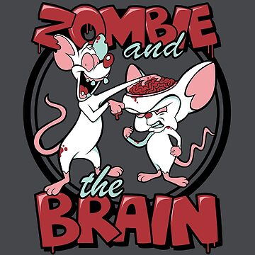 Zombie and the Brain by jenpauker