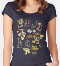 Feline Fungus! Women's Fitted Scoop T-Shirt