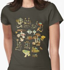 Feline Fungus! Women's Fitted T-Shirt