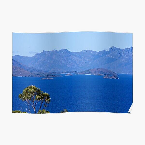 SCENES & SCENERY ~ April Trip to Lake Pedder and Lake Gordon-2 by tasmanianartist Poster