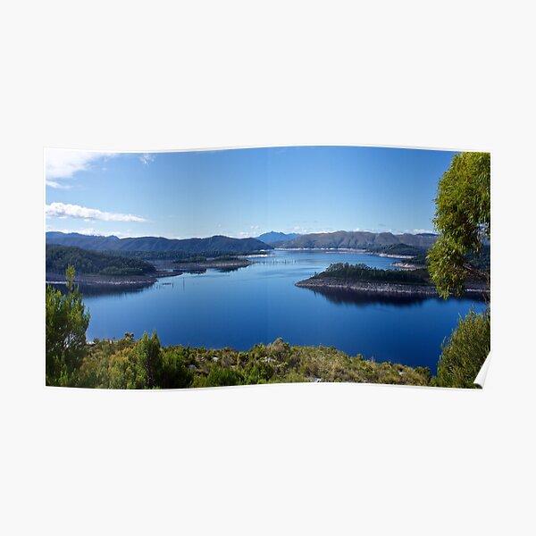 SCENES & SCENERY ~ April Trip to Lake Pedder and Lake Gordon-1 by tasmanianartist Poster