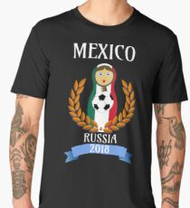 Soccer Cup 2018 Gifts Mexico  Men's Premium T-Shirt