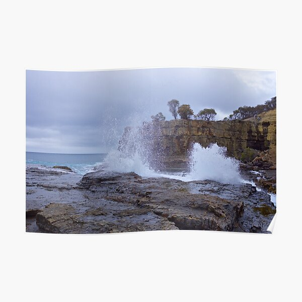 SCENES & SCENERY ~ The Theatre of Clydes Island-6 by tasmanianartist Poster
