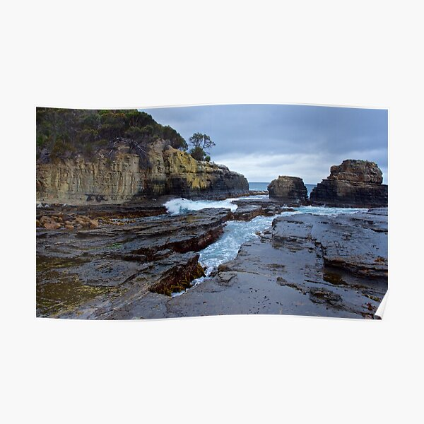 SCENES & SCENERY ~ The Theatre of Clydes Island-5 by tasmanianartist Poster