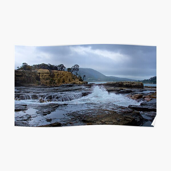 SCENES & SCENERY ~ The Theatre of Clydes Island-4 by tasmanianartist Poster