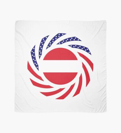 Austrian American Multinational Patriot Flag Series Scarf