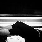 Seen on Train by Judith Oppenheimer