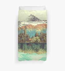 The Unknown Hills in Kamakura Duvet Cover