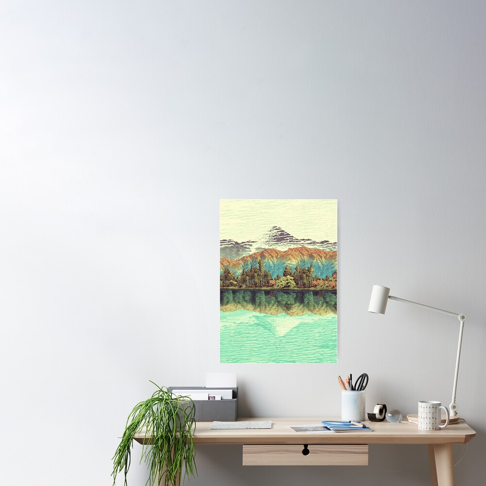 The Unknown Hills in Kamakura Poster