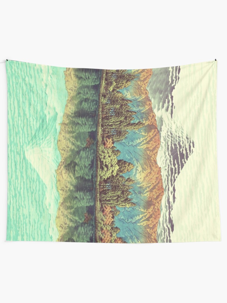 Alternate view of The Unknown Hills in Kamakura Tapestry