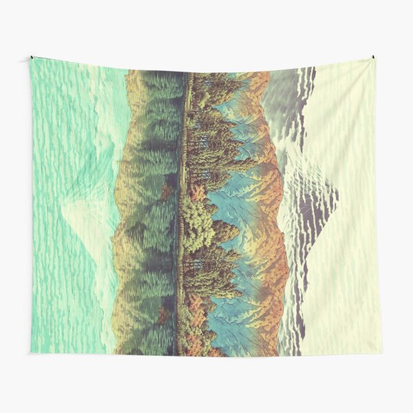 The Unknown Hills in Kamakura Tapestry