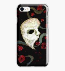 Phantom of the Opera Mask and Roses iPhone Case/Skin