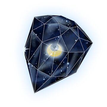 Legendary Silver Crystal by MariaKramer