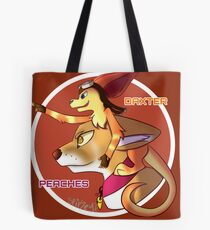 Peaches and Daxter Tote Bag